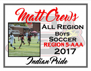 matt crews all region