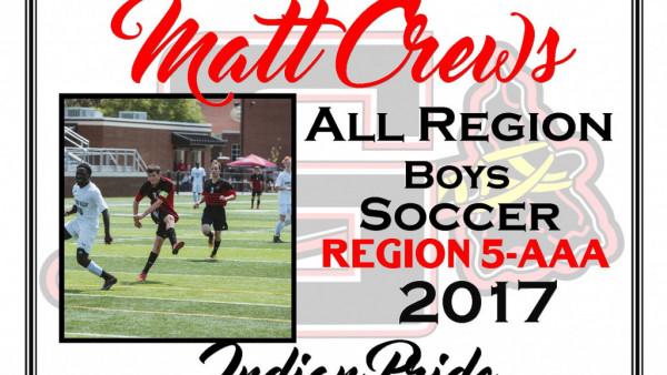 matt crews all region