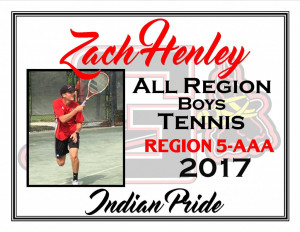 zach henley all region bte