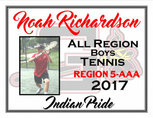 noah richardson all region bte