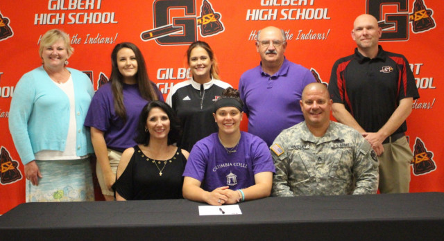 Skylar Maroney Signs with Columbia College