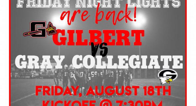 Gilbert HOSTS Gray Collegiate Academy