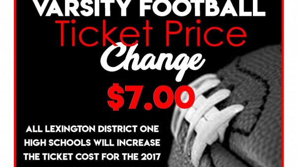 Ticket Price Change