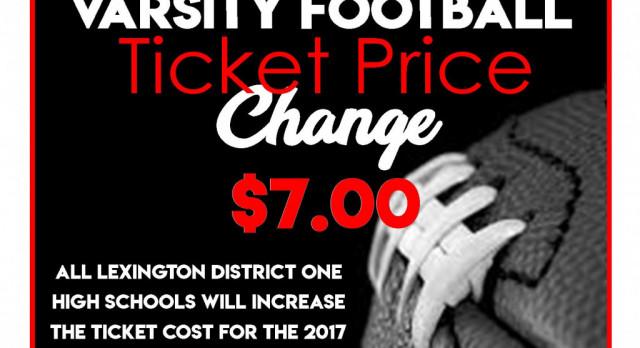 New Ticket Price