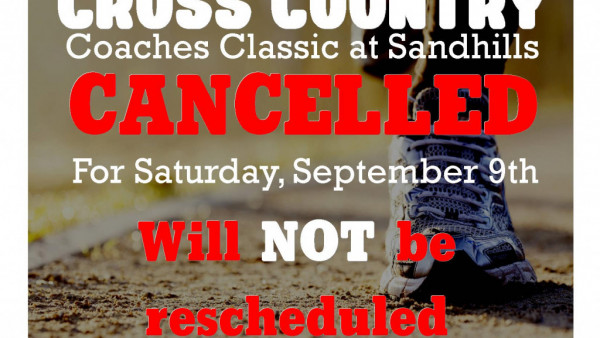 XC Coaches Classic Cancelled