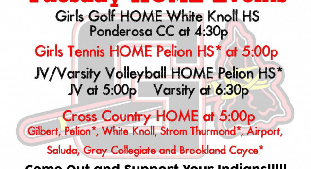 Tuesday HOME Events