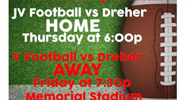 Football vs Dreher