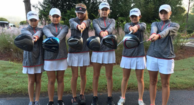 Lady Golfers take on Lower State and are State Qualifiers!