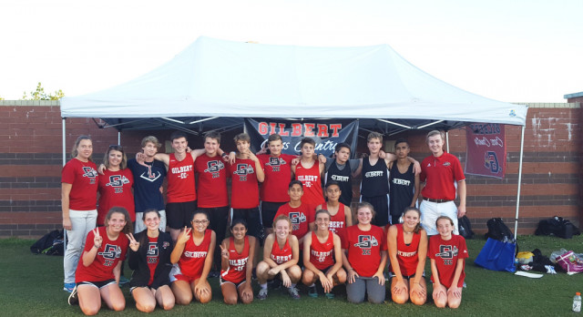 Boys and Girls Cross Country 2nd Place AAA Region 5