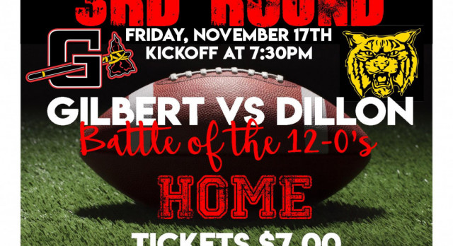 Gilbert HOSTS Dillon 3rd Round