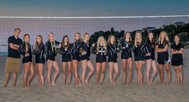 West Ottawa High School Girls Varsity Volleyball beat Grandville High School 3-0