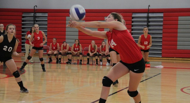 Michigan Center High School Volleyball Varsity falls to Hanover-Horton High School 1-3