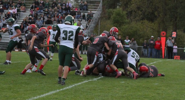 Michigan Center High School Varsity Football beat Napoleon High School 41-26
