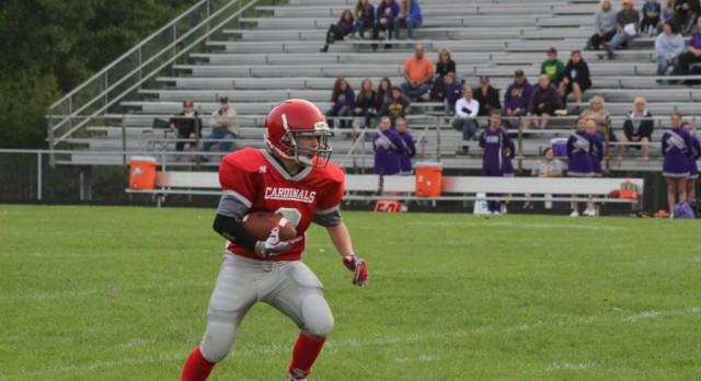 Michigan Center High School Junior Varsity Football beat Grass Lake High School 32-6