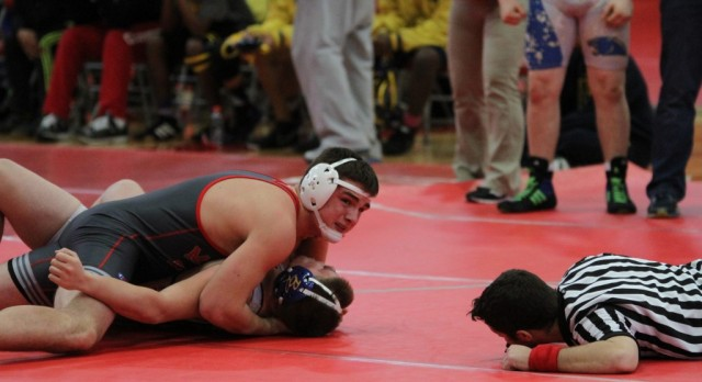 This past weekend freshmen Brock Kuhn competed in the WAAAM Wrestling State Finals in Battle Creek.