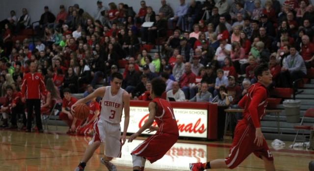 Michigan Center High School Boys Junior Varsity Basketball beat Hanover-Horton High School 46-40