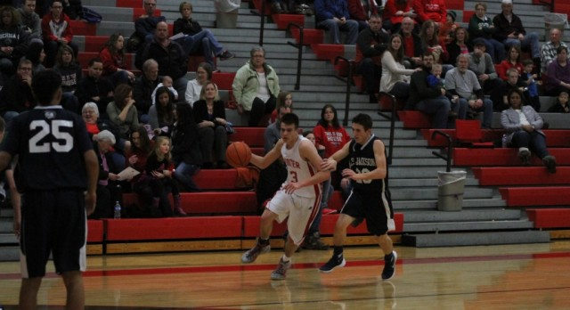 Michigan Center High School Boys Junior Varsity Basketball beat EAST JACKSON MS/HS 54-20