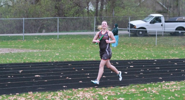 The Girls Track team lost to Napoleon 84-49 and Addison 68-67 tuesday night.