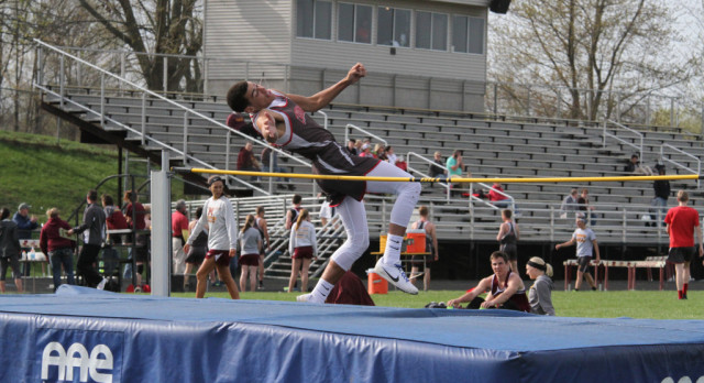 The Varsity Track team lost to Napoleon and Addison Tuesday, April 25th