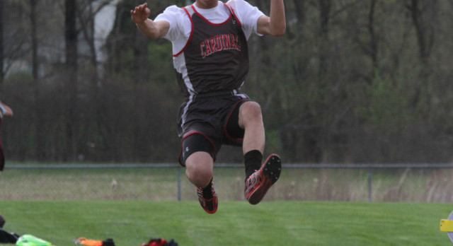 On Tuesday April 18 the Track team went up against Manchester and was victorious with a score of 85-48.