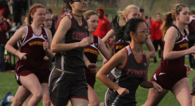 The Girls Track team took 7th place at the conference meet tuesday and finished the season with a 7th overall finish in the conference.