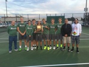 Boys Tennis Sectional Champs 2016