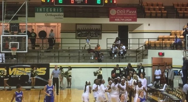 Midwest City High School Girls Varsity Basketball beat Choctaw 58-46