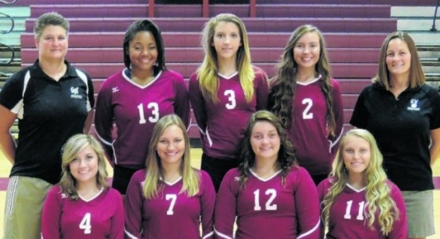 2015 George Wythe Volleyball