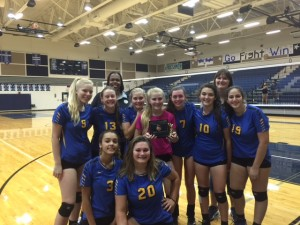 Anderson JV takes second place in Gold Bracket at Cedar Creek tournament.