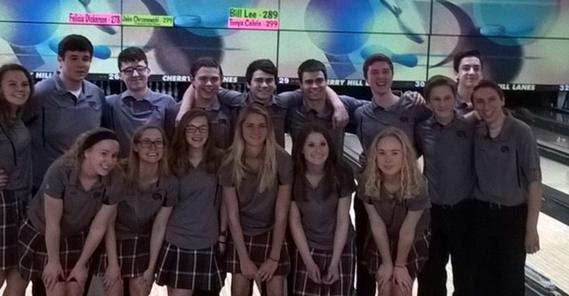 Boys and Girls Bowling Finish Second at Regional!!!!