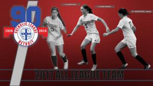 2017 All League Girls Soccer