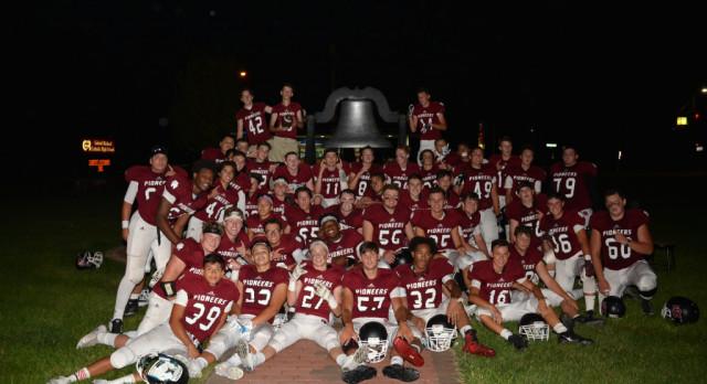 Pioneer Football Makes Playoffs!!!