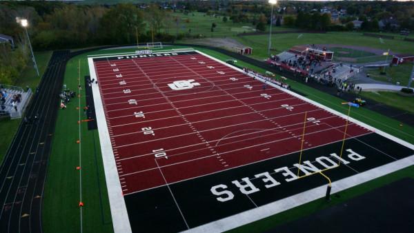 2017 Gabriel Richard Catholic Football Field Pic