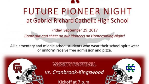 2017 Future Pioneer Night Football