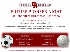 2017 NEW Future Pioneer Night Soccer and Volleyball