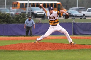 Hunter Maxwell was the winning pitcher Wednesday night against Fontainebeau.