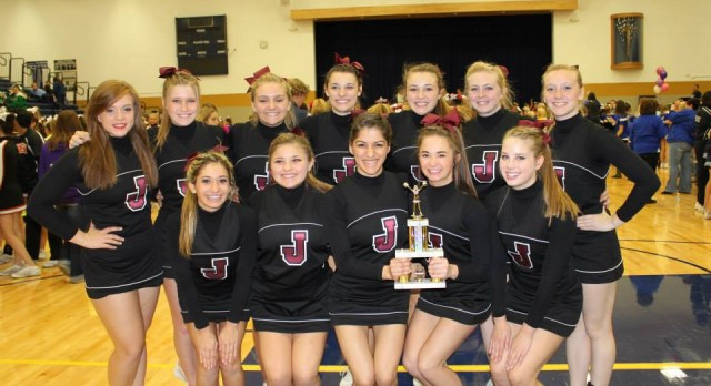 Jimtown Cheerleaders to compete at Lucas Oil Stadium