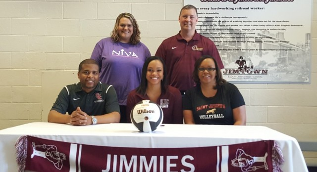 Shawntel James signs to play at St. Joseph's College