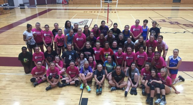 76 at 2016 Volleyball Summer Camp