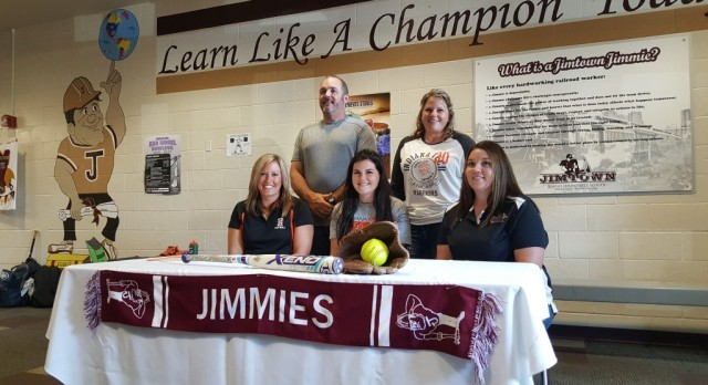 Lady Jimmies' Ashley Alvey signs with Indiana Tech