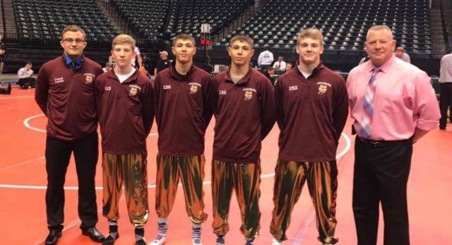 2 Jimmies Finish on the Medal Stand at Banker's Life Fieldhouse