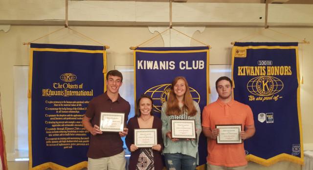 Kiwanis Honors 4 Spring Jimmies