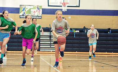Young Ladies Jimmies Basketball Camp