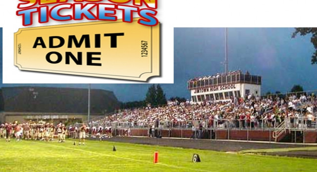 Season Football Tickets on Sale NOW