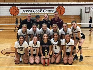 Jimtown Varsity Volleyball Wins Home Invitational