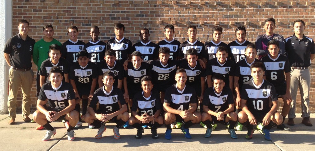 2016 Varsity Boys Soccer Team Photo