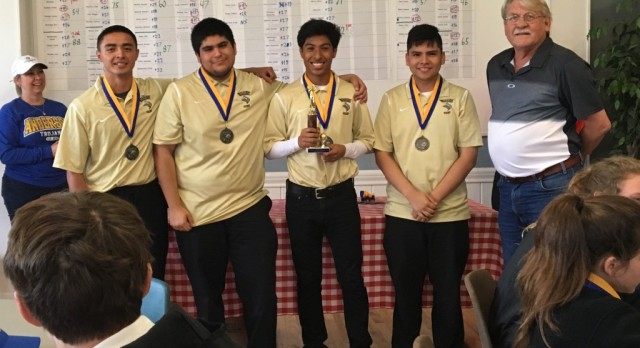 "Viking Golf Roars to 2nd Place Finish at Lions ""Muny"" G.C."