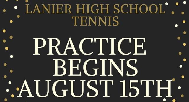 Tennis Begins August 15th!