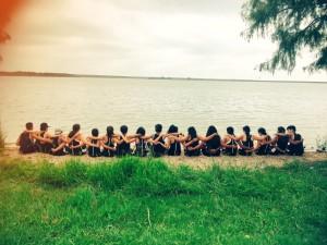Team bonding after AISD Invitational