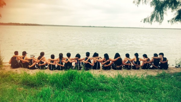 Team bonding after AISD Invitational